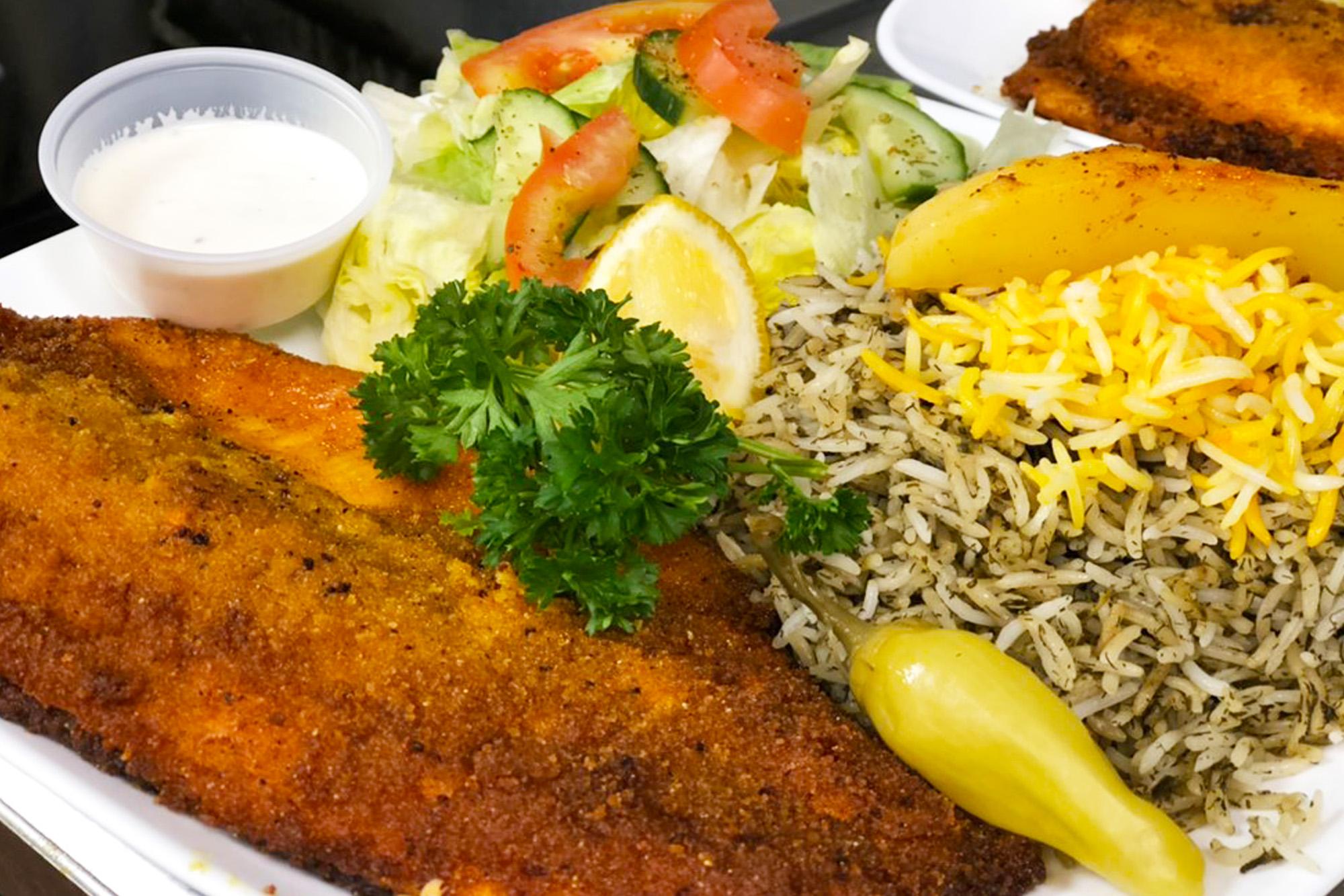 Main Dishes at Sahel Persian Restaurant